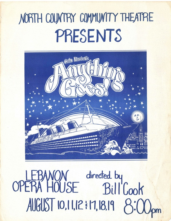 1978 Anything Goes